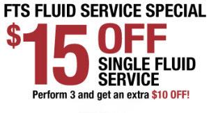 Fuild Service Special San Diego